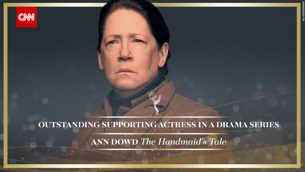 Ann Dowd wins Outstanding Supporting Actress in a Drama Series for @HandmaidsOnHulu #Emmys https://t.co/3gHm4wFQLX https://t.co/nj8Bu3jDZq
