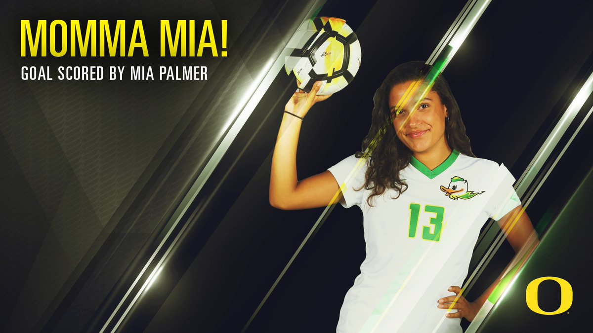A late birthday gift (Friday) for Mia Palmer. GOAL! Ducks lead 3-0 in the 74th minute. https://t.co/HizO0xMmDh