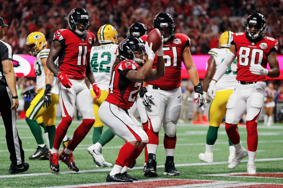 NBA on NBC Theme Song Plays Following Falcons TD vs. Packers