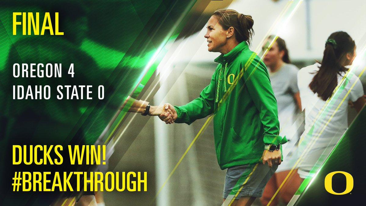WIN DUCKS WIN! Oregon improves to 6-2 on the season. Best non-conference record since 2005. https://t.co/PxKU2lOMzj