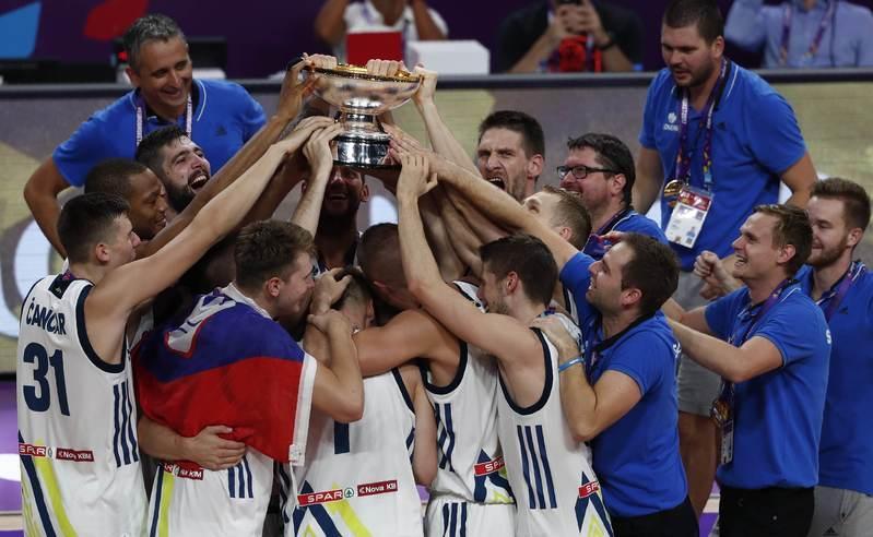 Basketball: Electric Dragic leads Slovenia to Eurobasket glory