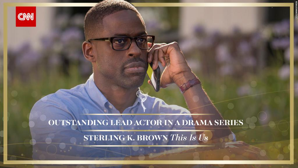 .@SterlingKBrown wins Outstanding Lead Actor in a Drama Series for @NBCThisisUs #Emmys https://t.co/jwFxSD2AcQ https://t.co/LtWgdBtrW8