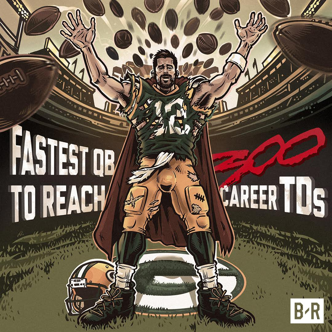 Aaron Rodgers makes history! https://t.co/9GNkl9qA25