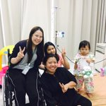 Thai girl who lost both legs in Ang Mo Kio MRT accident brings cheer to hospital patients