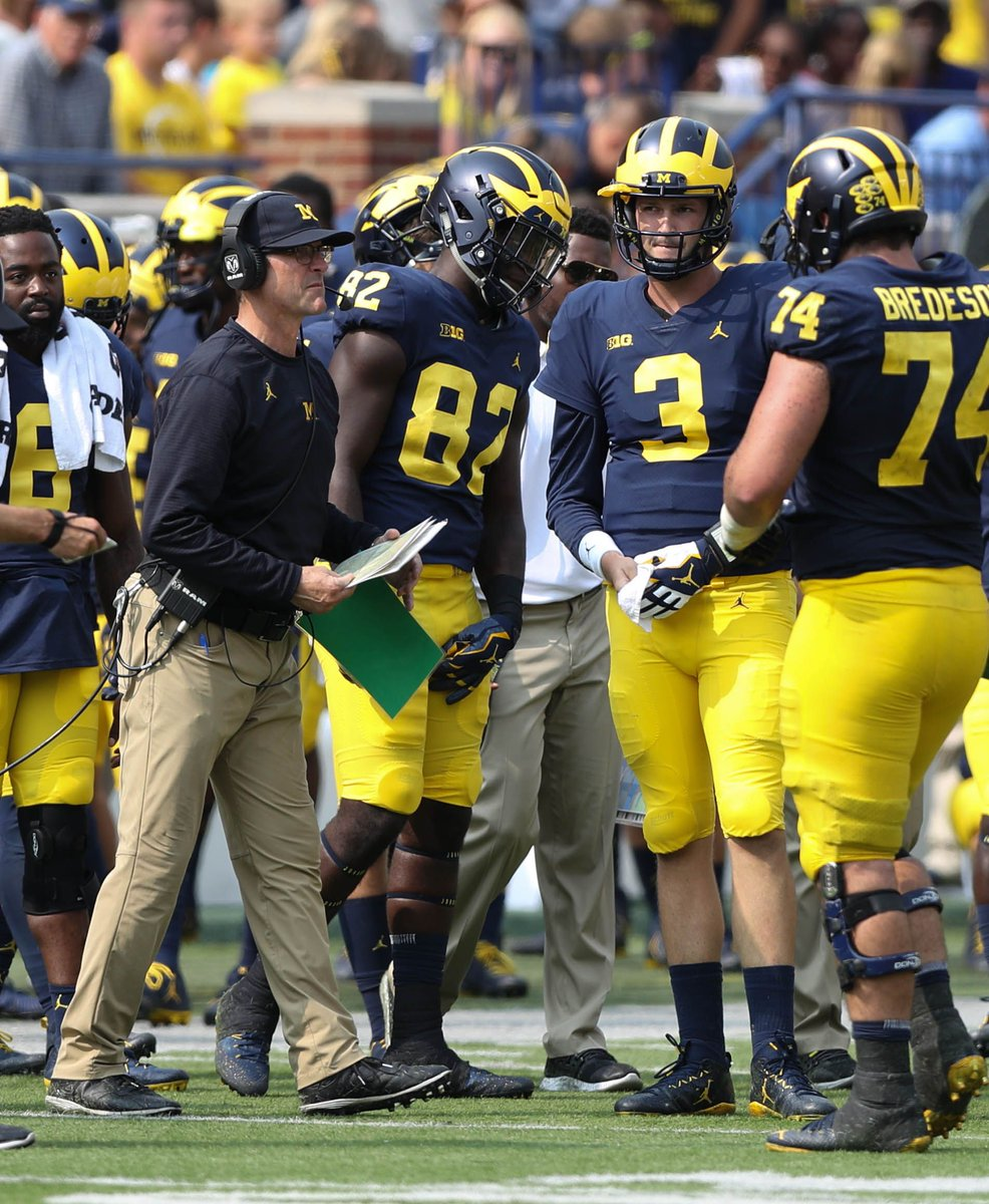 Michigan film study: Pin red zone woes on inexperience, coaching staff
