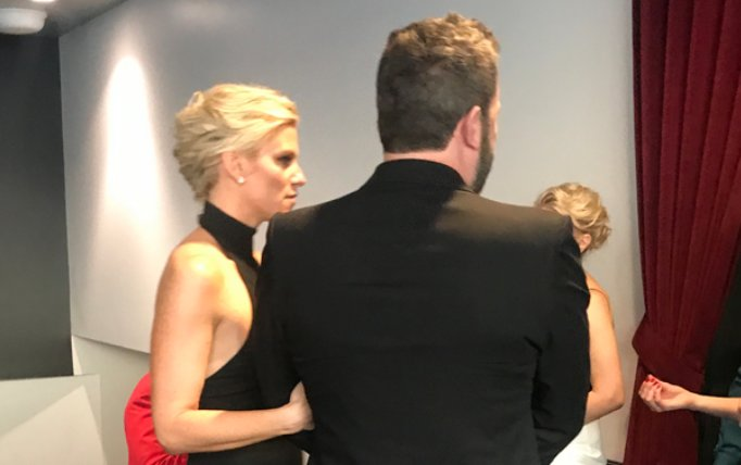Ben Affleck was Lindsay Shookus' date to the 2017 Emmys: