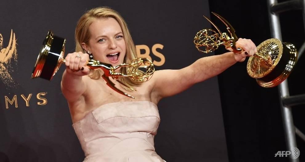 'SNL,''Big Little Lies,' 'Handmaid's Tale' rule at Trump-flavored Emmys