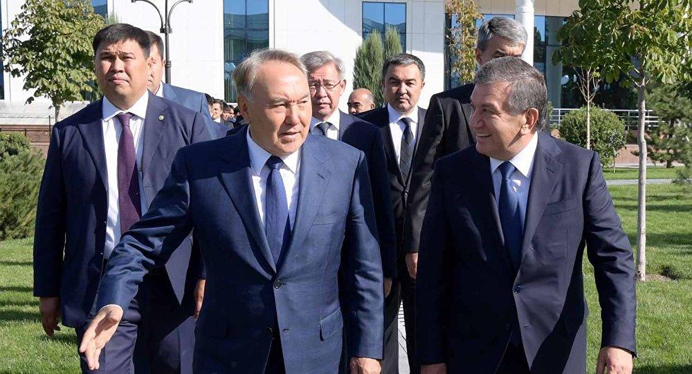 Назарбаев прибыл в Узбекистан с государственным визитом