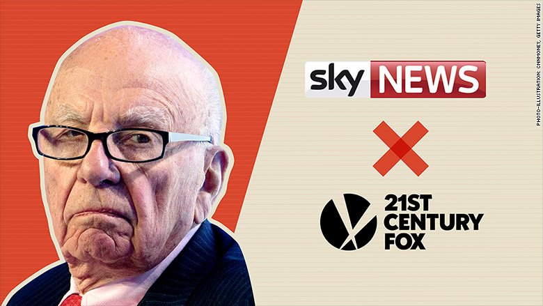 The complicated politics holding up Rupert Murdoch's Sky deal