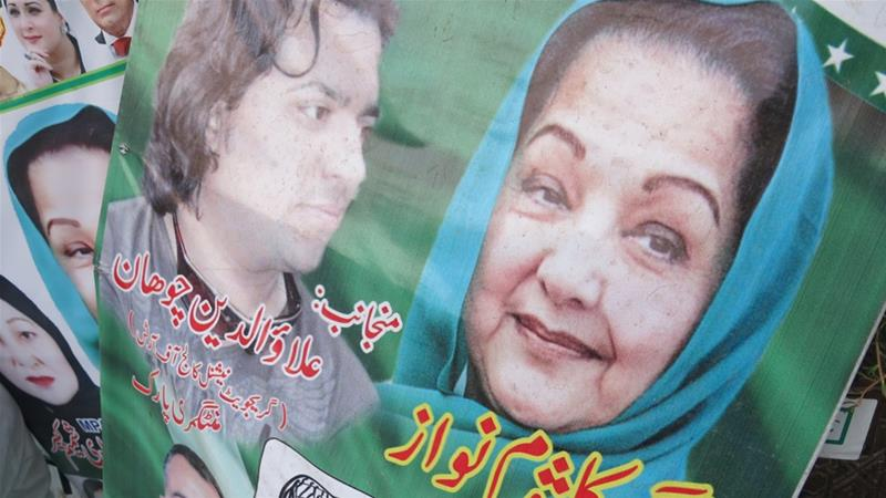 Pakistan's Sharif faces key by-poll after dismissal