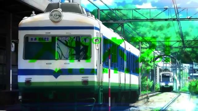 メガネブ! (2013) その2①福井鉄道 200形 OP②福井鉄道 80形 3話 →元 南海鉄道 電5形③福井鉄道 F