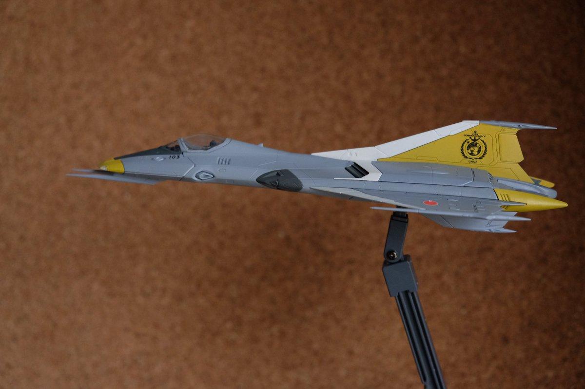 99式空間戦闘攻撃機 極東管区防空隊所属 山本明一尉の乗機(マークがCOSMO NAVYですが、そこはご愛敬で。) #y