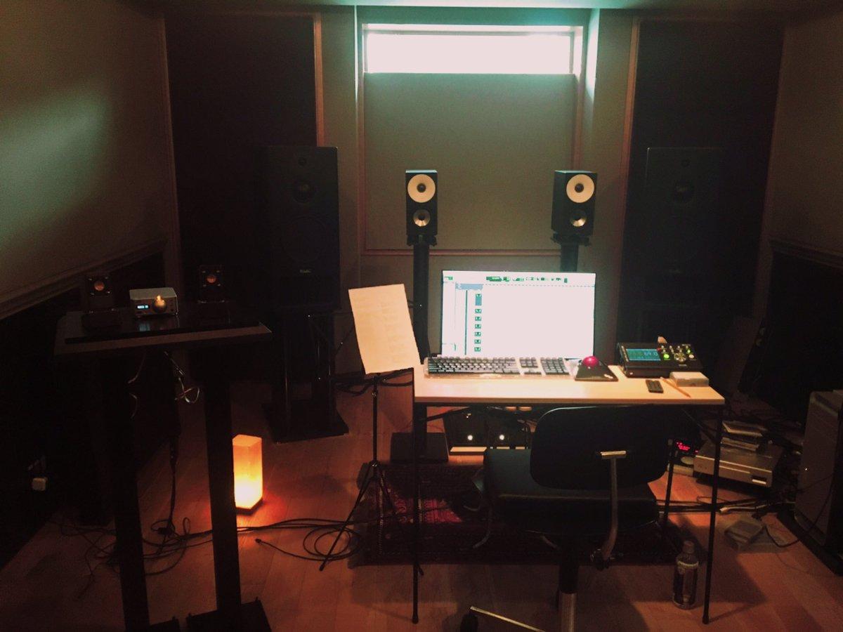 今日は昨日発表されたダンメモ新主題歌「Ivy」のTDでした。素敵な編曲をしてくださったカワイさん()、作曲面でサポートし