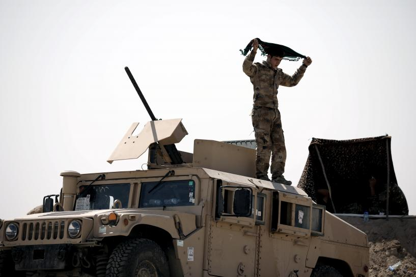 Air strikes hit U.S.-backed militia in Syria's Deir al-Zor - SDF