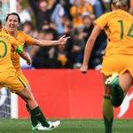 Lisa De Vanna wonder goal helps Matildas sink Brazil in friendly at Pepper Stadium