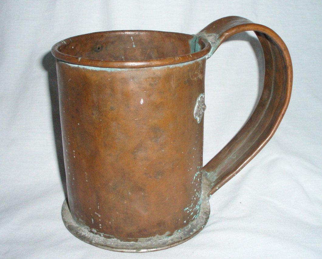 Antique Primitive Large Copper Stein Mug Flagon Cup https://t.co/2etLqUk43T https://t.co/Z0FCNZNF3B