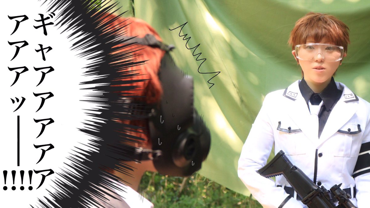 【コス/青春×機関銃】   ……あれ?兄さん?細川春花*幸丸細川春樹*紅峰アキラphoto*YURIさん
