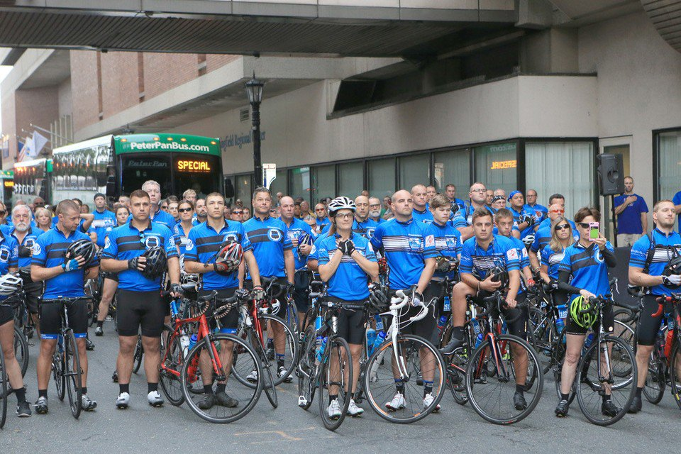 360 bicyclists set off from Springfield to Boston for 5th annual Ride to Remember (photos, video)
