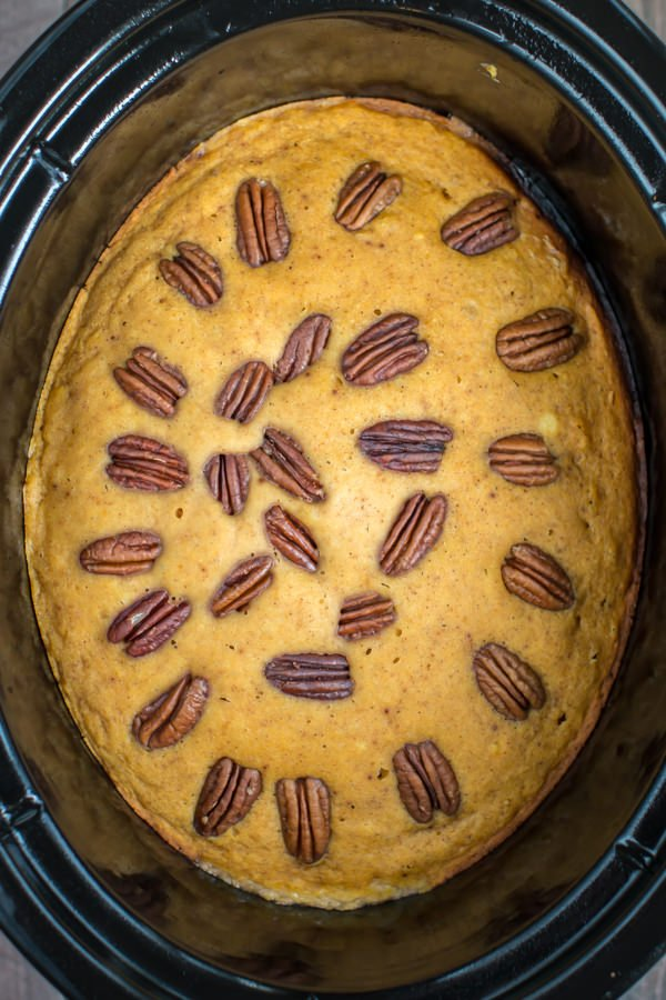 Slow Cooker Pumpkin Spoon Cake https://t.co/XXoOWNgY7f https://t.co/ehSWmoa2IE
