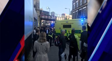 Arrest made in connection to London tube attack; terror threat raised to 'critical'