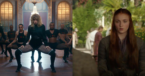 Look what you made the internet do: There is now a Taylor Swift and Game of Thrones mashup.