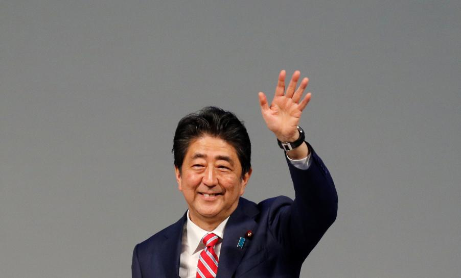 Japan's PM Abe mulling snap election as early as October - media