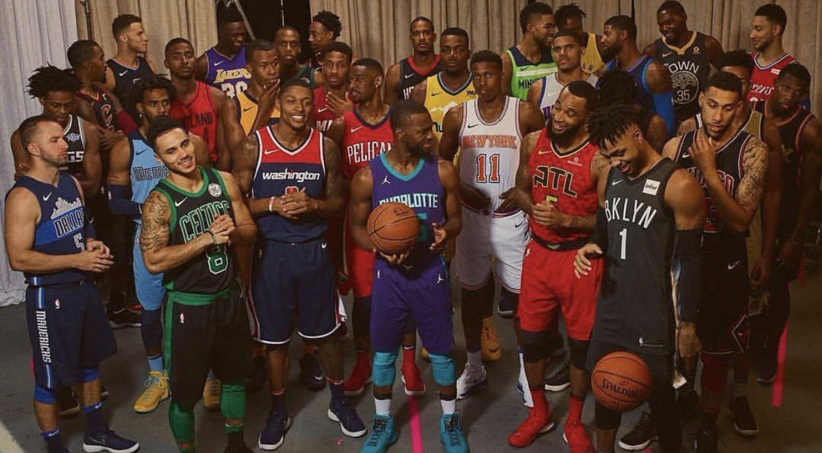 Which new jersey release is your favorite? 🤔(📸 @NBA)