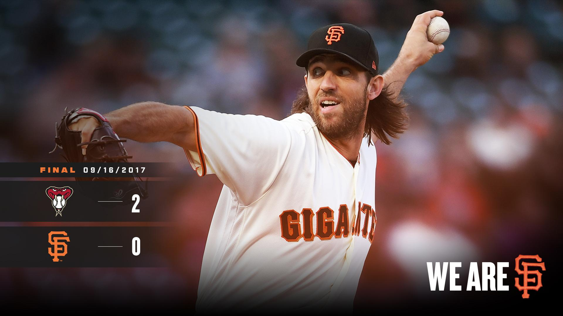 RECAP: Madison Bumgarner goes 7 strong in #SFGiants' loss vs. D-backs. https://t.co/Tgf0BcXEaA https://t.co/waTvg2F4IQ