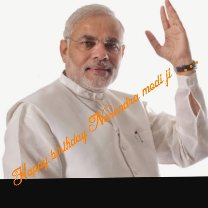 HAPPY BIRTHDAY NARENDRA MODI SIR ........