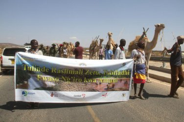 Herders trek 240km to create awareness on River Ewaso Nyiro