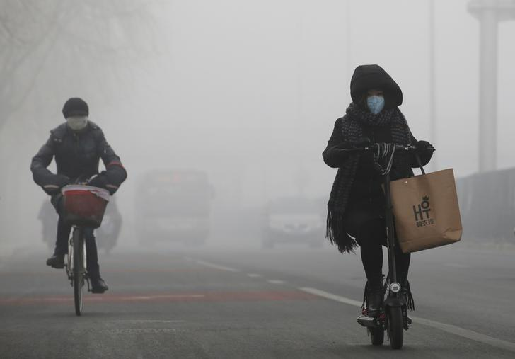Chinese capital bans winter construction to improve air quality