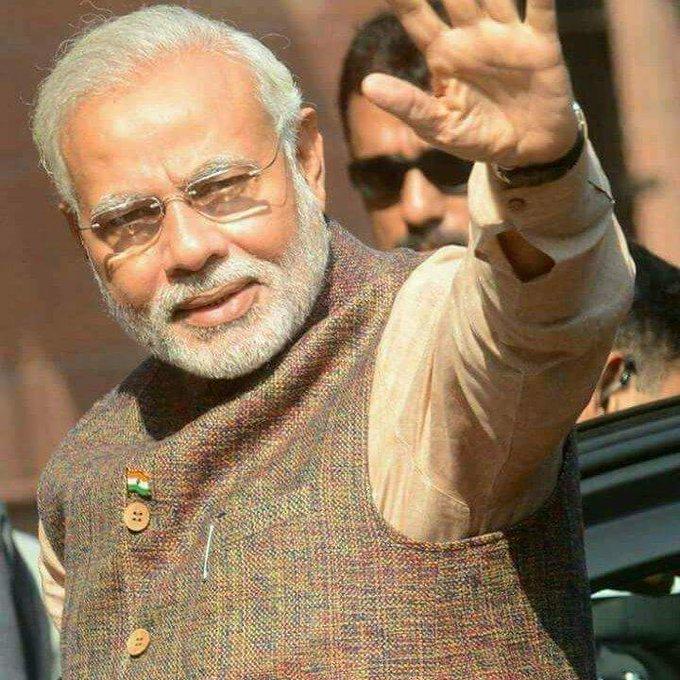 Happy birthday to our dear Prime Minister Shri Narendra Modi Ji....Jai Hind....Jai Baharat... Vandematram.