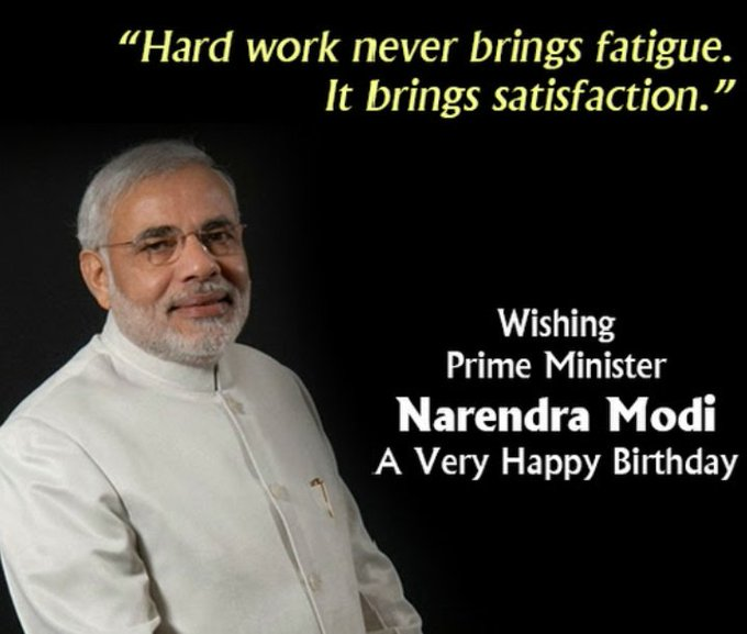 Happy  Birthday PM  Narendra Modi