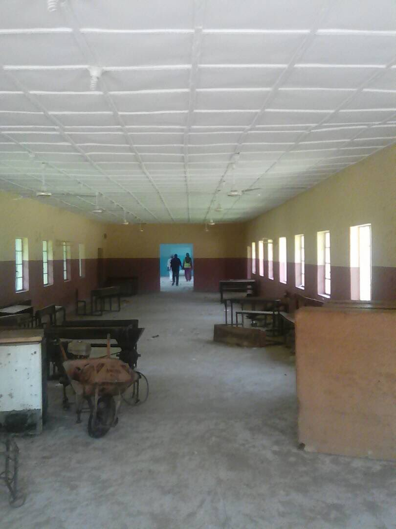 On going renovation of Queen Amina College, Kaduna. Follow the money #BudgetMonitoring #Education https://t.co/4Ynn4Y6bTX