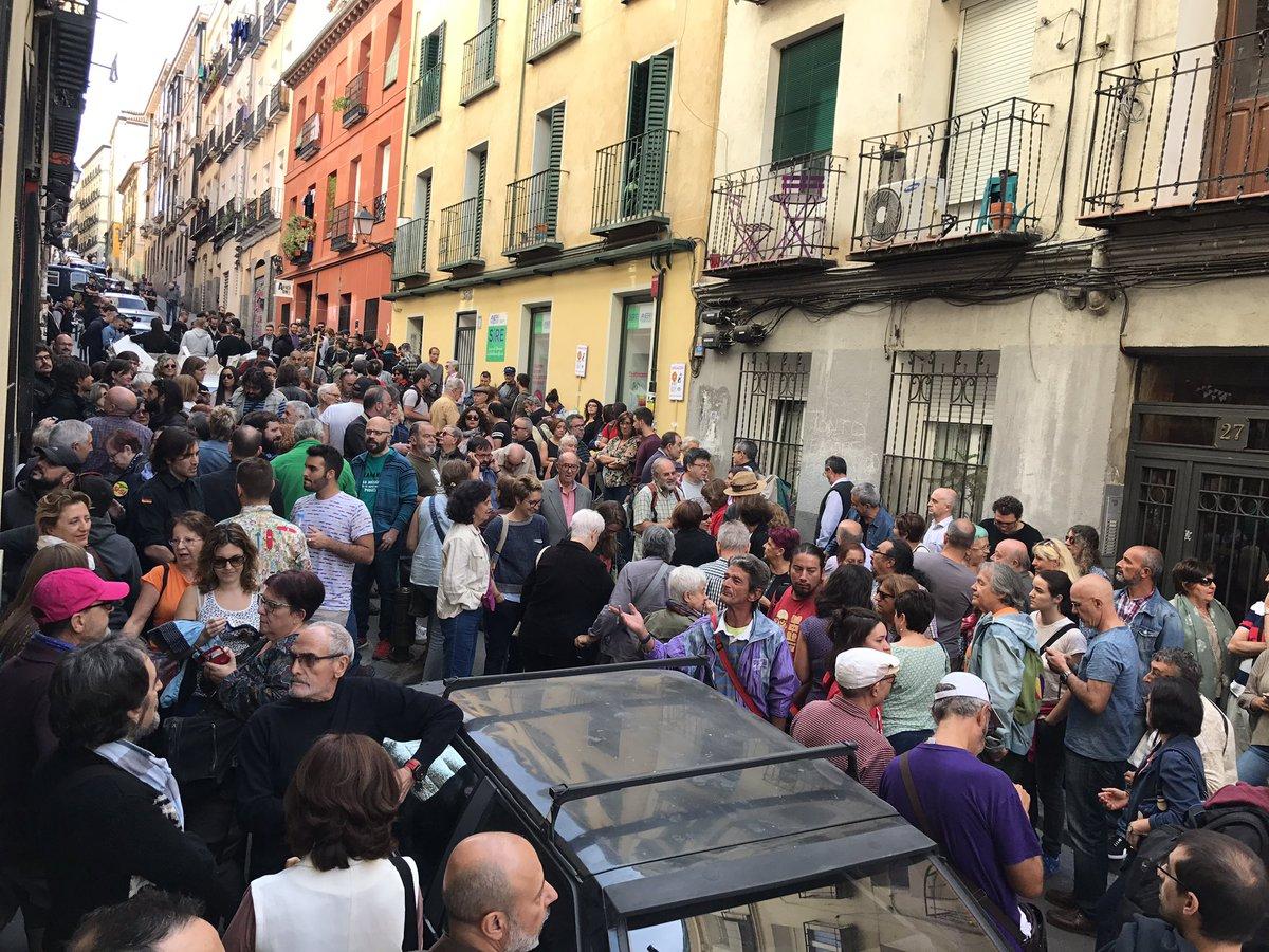 Hoy un Madrid que no se asusta teatro del barrio