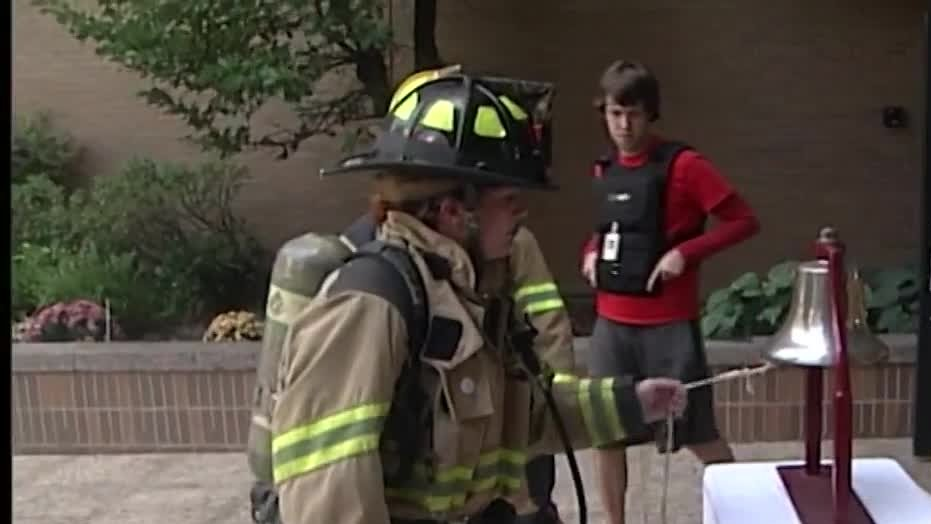 First responders killed during 9/11 honored at memorial stair climb