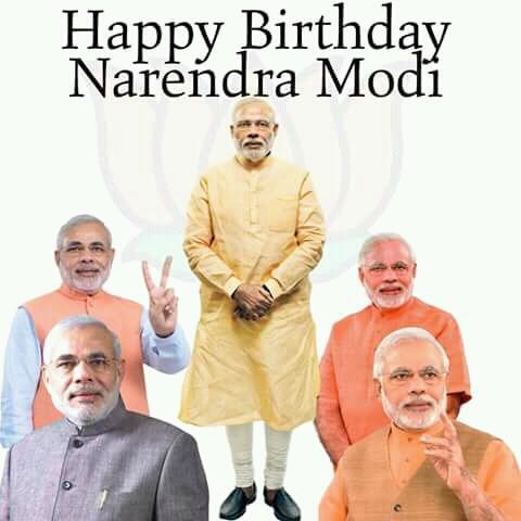 Happy birthday mere pyar pm narendra modi ji