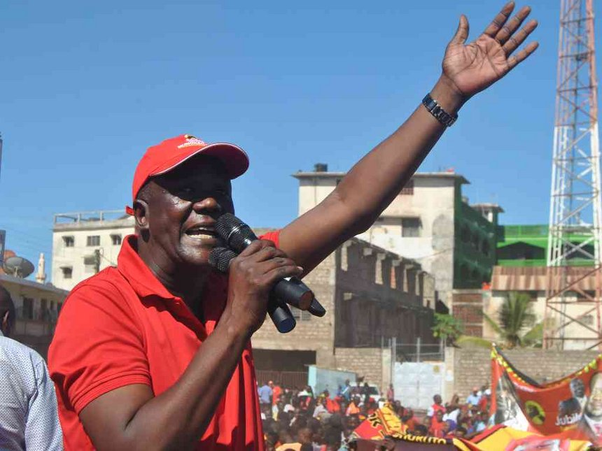 Mung'aro denies taking Sh4.5m meant to pay Jubilee agents in Kilifi