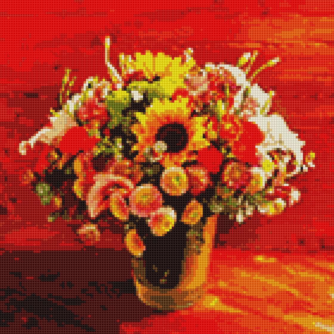 #institch OMG! It's time to cross-stitching on your phone!この