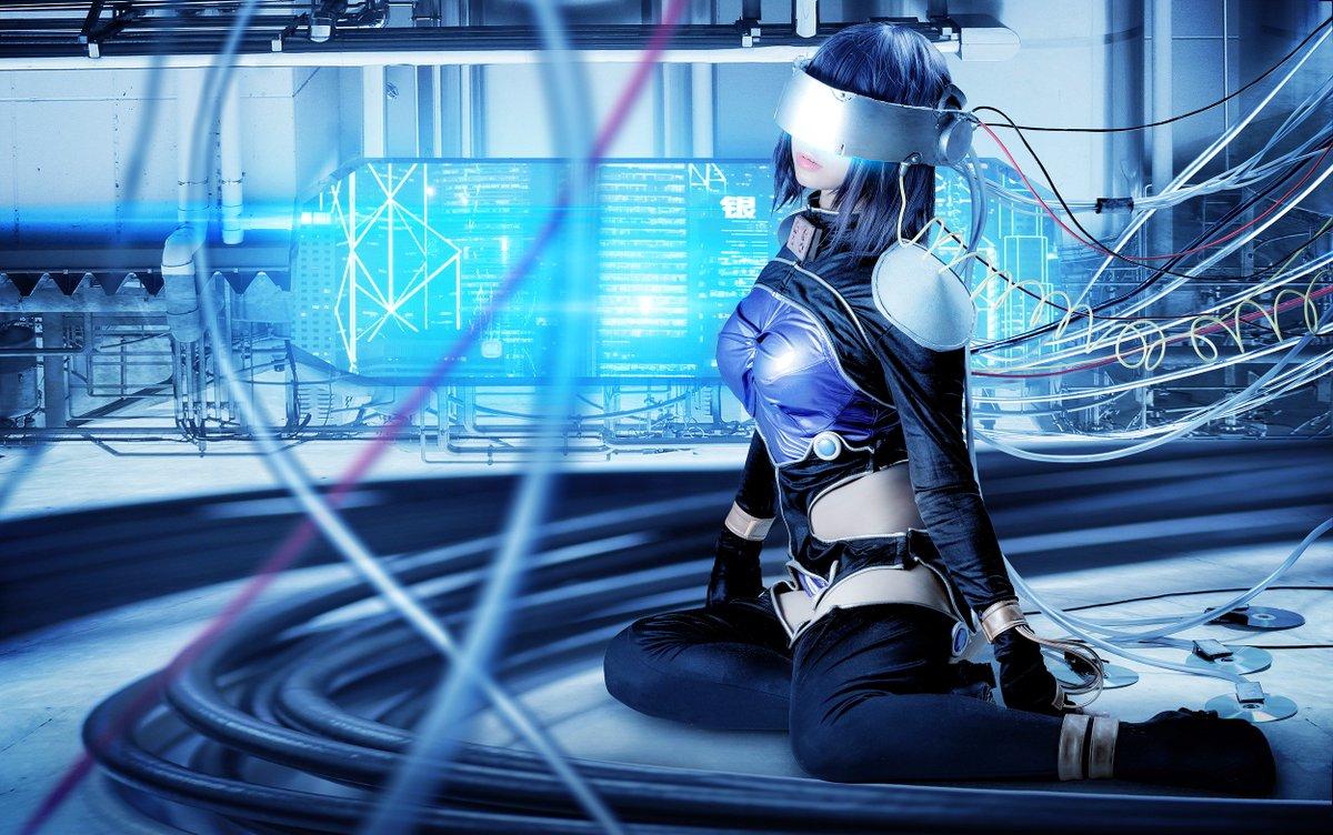【コスプレ】攻殻機動隊より(素子:HDD衣装)モデル:佐藤せいらさん()撮影:ホッスィー()#コスプレ #cosplay