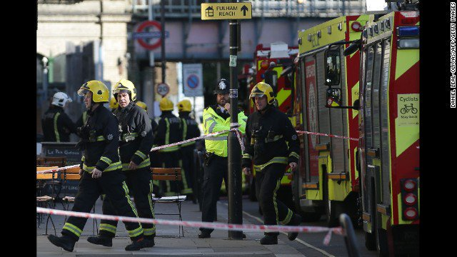 London terror attack latest: Second man arrested in tubebombing
