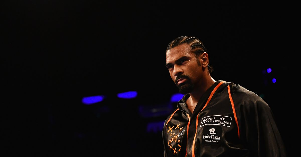 David Haye and UFC fighter Jimi Manuwa meet face to face: 'The fight is on' https://t.co/3RwBDftama https://t.co/iRhFB8h8Ri