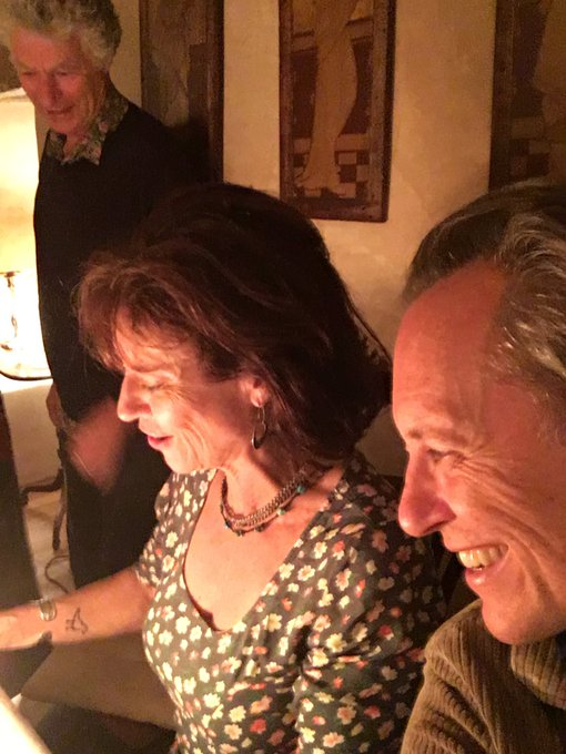 Happy 60th birthday to Rachel Ward, back in the Olde Countrie from Oz in Herefordshire.