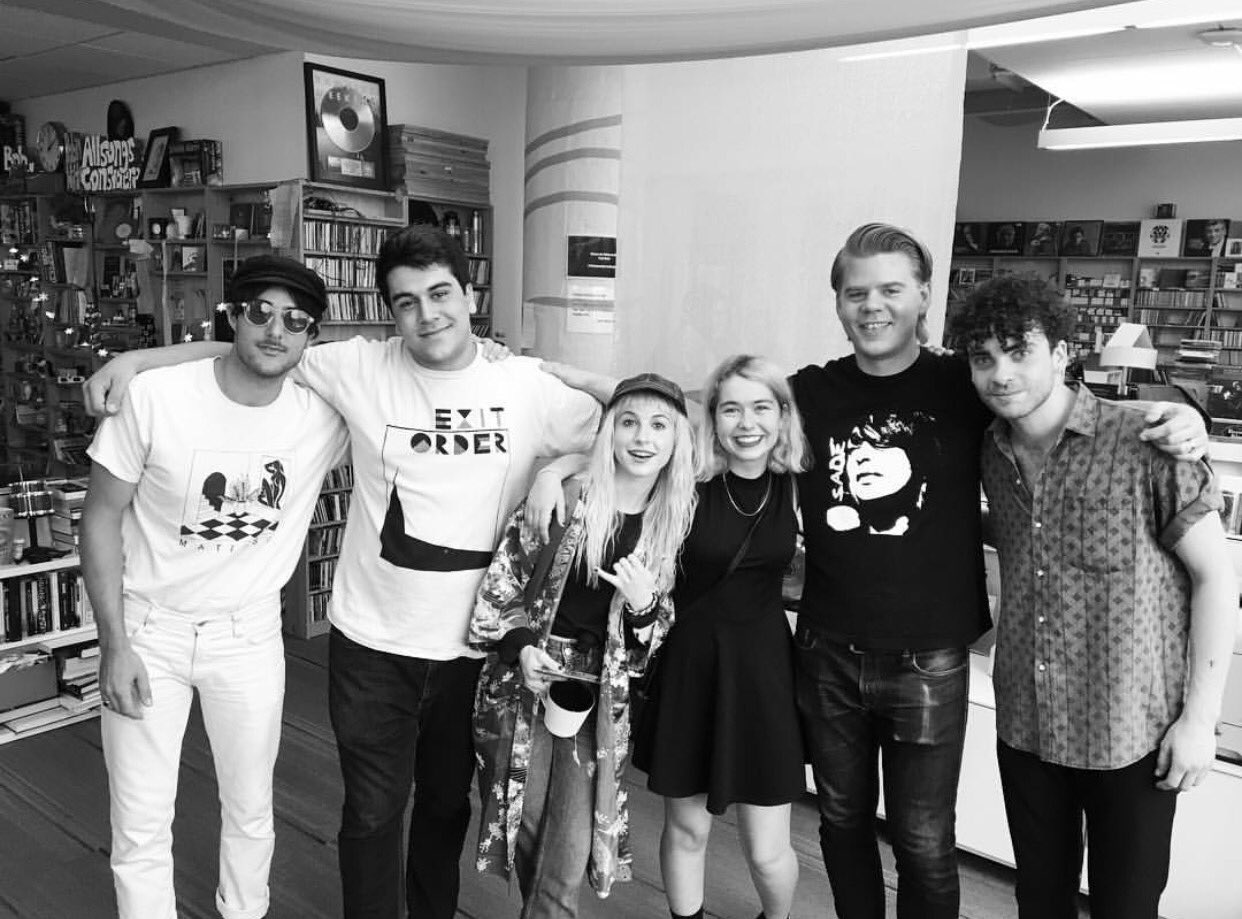just the other day with @totalvibration & @Snailmailband at @nprmusic ;))))) https://t.co/Cyjknl3HhP
