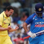 Australia to chase revised target after rain delay in ODI against India