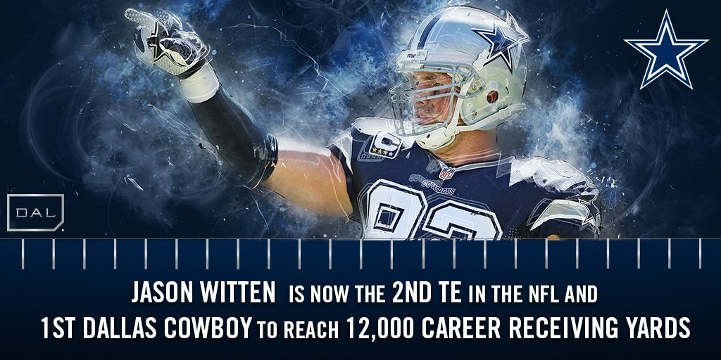 Big Witt getting yet another BIG milestone. #DallasCowboys https://t.co/LsoWkKI0vo