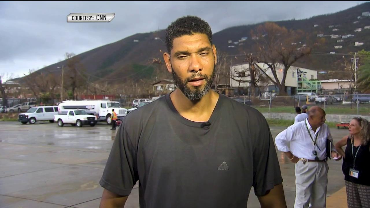 Tim Duncan continues to raise money for his relief fund supporting hurricane relief in the U.S. Virgin Islands. https://t.co/268srxb5Bv