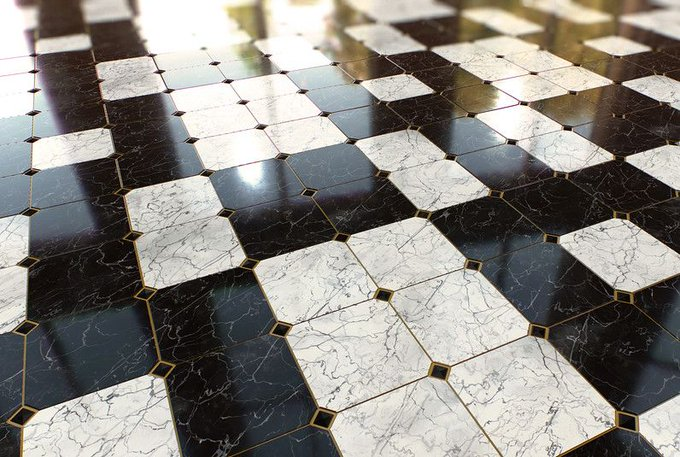 FREEBIE! Marble Floor PBR Procedural Texture! cubebrush gamedev gameart