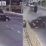 Bride's parents and sister are killed as they make their way to wedding ceremony in horror car crash captured on CCTV