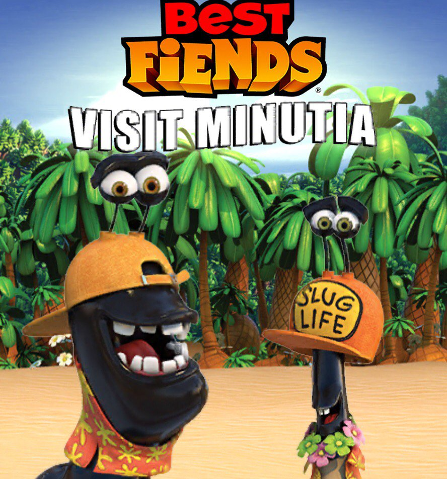 LOVED the new @bestfiends animated short, #VisitMinutia! WATCH now and thank me later! https://t.co/R640T6I1qN https://t.co/UfUUcBen6R